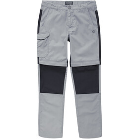 Craghoppers Kiwi Convertible Pantalon Enfant, cement